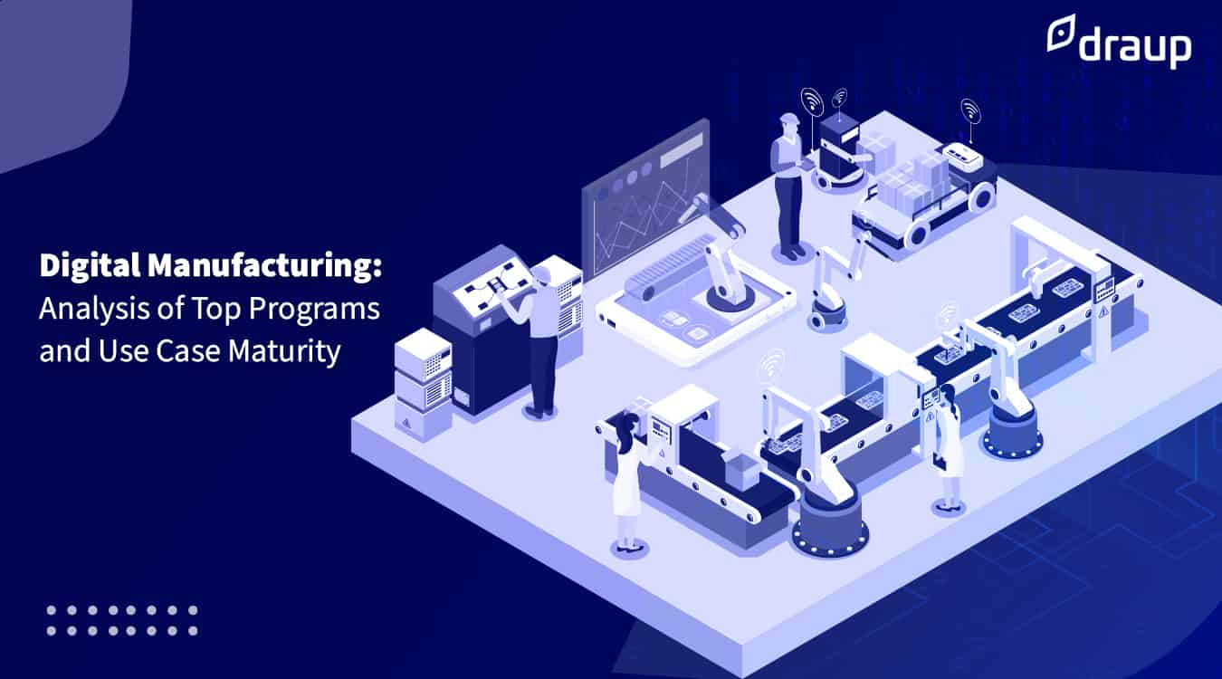 Digital Manufacturing: Analysis of Top Programs and Use Case Maturity