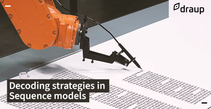 Decoding strategies in Sequence models